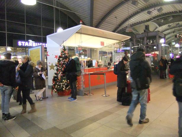 マインツ中央駅で