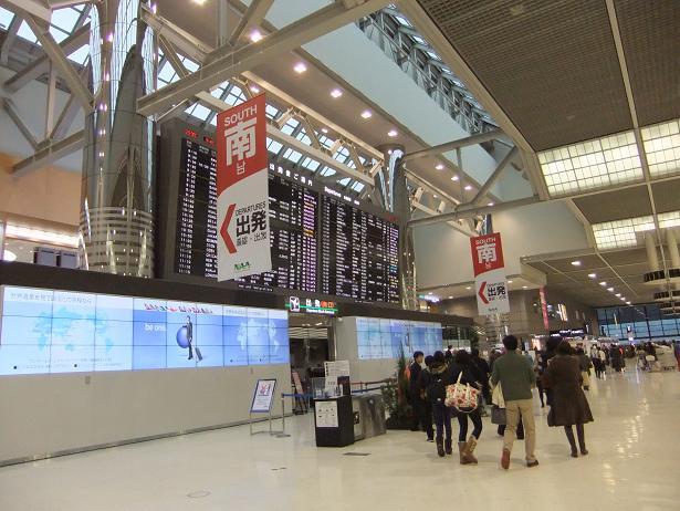成田空港で①